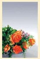 """Адресная папка """"60 лет"""". цветы, Ульяновский Дом печати"""