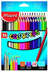 """Карандаши цветные """"color'peps"""", треугольный корпус, 36 цветов, Maped"""