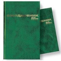 Ежедневник недатированый, а6, 256 страниц, зеленый, Index (канцтовары)