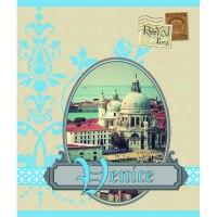 """Книга для записей """"городской стиль. винтажное путешествие. венеция"""", а6, Канц-Эксмо (Listoff, Unnika Land)"""