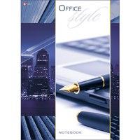 """Книга для записей """"офисный стиль. огни мегаполиса"""", а4, Канц-Эксмо (Listoff, Unnika Land)"""