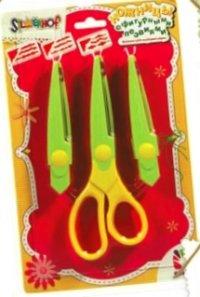 """Ножницы, детские, фигурные лезвия """"узоры"""" (3 штуки), Silwerhof"""