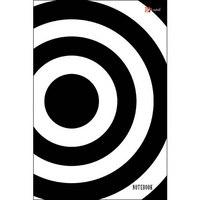 """Книга для записей """"офисный стиль. черно-белый"""", а5, Канц-Эксмо (Listoff, Unnika Land)"""