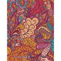 """Книга для записей """"орнамент. разноцветные листья"""", а6, Канц-Эксмо (Listoff, Unnika Land)"""