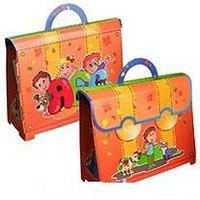 Портфель детский картонный (оранжевый), Учитель