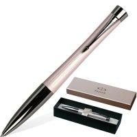"""Ручка шариковая """"urban premium metallic pink"""", корпус пастельно-розовый, хромированные детали, Parker"""