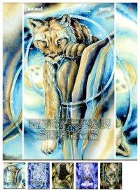 """Тетрадь """"дикие кошки"""", 48 листов, клетка, Альт"""
