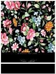 """Престиж-блокнот """"цветочный принт"""", а6, 160 листов, Бриз"""