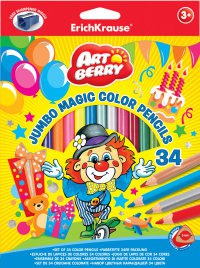 "Карандаши ""artberry"", 34 цвета с точилкой, ErichKrause"