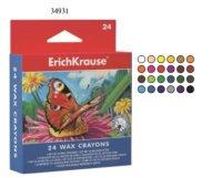 Восковые мелки, 24 цвета, ErichKrause