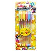 """Ручки гелевые """"радуга"""", с ароматом фруктов, 6 цветов, Action!"""