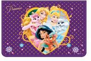 """Папка для тетрадей """"disney. принцессы"""", а4, на молнии, Disney (Дисней)"""