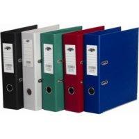 Папка-регистратор разборная, с двусторонним пвх - покрытием, с металлическим обрамлением, 8 см, бургунди, CENTRUM