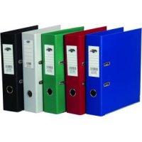 Папка-регистратор разборная, с двусторонним пвх - покрытием, с металлическим обрамлением, 8 см, желтая, CENTRUM