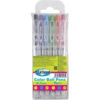 Набор цветных шариковых ручек, 6 цветов, 0,7 мм, CENTRUM