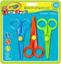 Набор безопасных ножниц с фигурными лезвиями, 3 шт, Crayola