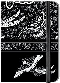"""Записная книжка на резинке, а6, 80 листов, """"крылья"""", Pampered Girls"""