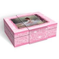 Шкатулка музыкальная для украшений, 20,5x14,7x7,6 см, Lisa Jane