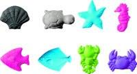 "Ластик ""обитатели моря"", 6x4 см, ассорти, серый, Brunnen"