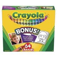 Восковые мелки, 64 штуки, Crayola