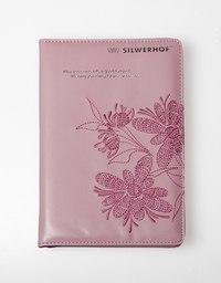 """Ежедневник недатированный """"вышивка. цветы-3"""", розовый, Silwerhof"""
