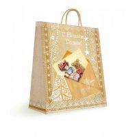 """Бумажный пакет для сувенирной продукции """"письмо"""", с ламинацией, Феникс Present"""