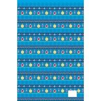 """Подарочная упаковочная бумага """"шары синие"""", Феникс Present"""