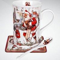 Чайный набор в подарочной коробке, арт. br-m13-n, Mister Christmas