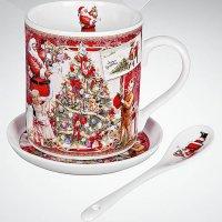 Чайный набор в подарочной коробке, арт. br-m11-set, Mister Christmas