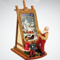 """Композиция музыкальная """"дед мороз рисует"""", Mister Christmas"""