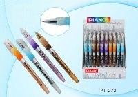 "Шариковая ручка на масляной основе ""piano"", pt-272-50, синяя, Miraculous"