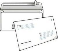 """Конверт """"index post"""", с6 (114x162 мм), белый, силиконовая лента, 80 гр/м2, 100 штук, Index (канцтовары)"""