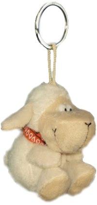 """Брелок - игрушка мягкая """"веселая овечка"""", 8 см, Coool Toys"""