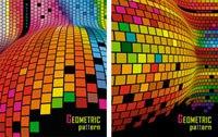 """Бизнес-блокнот """"разноцветные клетки"""", а6, 80 листов, Би Джи"""