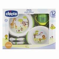 """Набор детской посуды """""""", в коробке (зелёный), Chicco"""