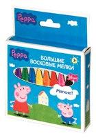 """Мелки восковые """"peppa pig"""", 16 штук, Свинка Пеппа (Peppa)"""