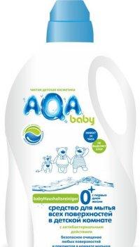 Средство для мытья всех поверхностей в детской комнате с антибактериальным эффектом aqa baby, 1000 мл, Манн и Шредер Руссланд