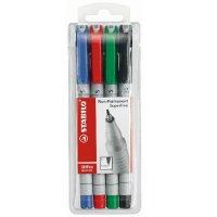 """Набор маркерных ручек с водорастворимыми чернилами """"ohpen"""", 4 ручки, 0,7 мм, STABILO"""