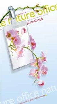 """Телефонная книжка на гребне """"офис розовый"""", а5, 80 листов, линия, Plano"""