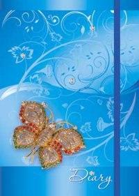 """Ежедневник недатированный """"cооl girl. драгоценная бабочка"""", а5, 80 листов, Plano"""