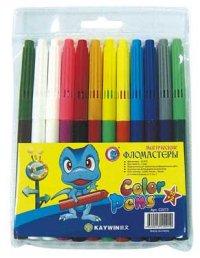 """Фломастеры """"kaywin. color pens"""", магические , 10+2 цветов, АппликА"""
