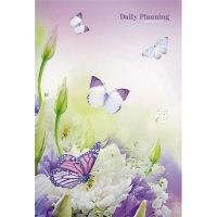 """Ежедневник недатированный """"чудесные бабочки"""", а5-, 112 листов, Канц-Эксмо (Listoff, Unnika Land)"""