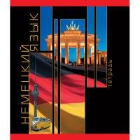 "Тетрадь ""планета знаний. немецкий язык"", 40 листов, а5, Канц-Эксмо (Listoff, Unnika Land)"