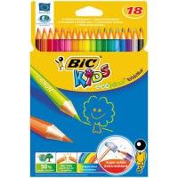"""Карандаши цветные """"evolution 93"""", 18 цветов , 18 штук, BIC"""