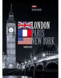 "Бизнес-блокнот ""london"", 120 листов, а4, Hatber"