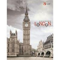 """Книга для записей """"городской стиль. лондон"""", а6, 96 листов, Канц-Эксмо (Listoff, Unnika Land)"""