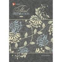 """Книга для записей """"орнамент. цветочное вдохновение"""", а6, 64 листа, Канц-Эксмо (Listoff, Unnika Land)"""