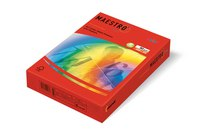 "Бумага ""maestro color intensive"" а4, кораллово-красная, 250 листов, Mondi Business Paper"