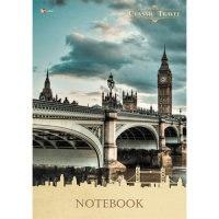 """Книга для записей """"городской стиль. путешествие (лондон)"""", а4, 80 листов, Канц-Эксмо (Listoff, Unnika Land)"""