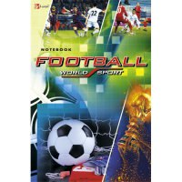 "Книга для записей ""футбол. (world sport)"", а5, 100 листов, Канц-Эксмо (Listoff, Unnika Land)"